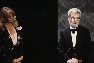 """The 52nd Annual Academy Awards""Goldie Hawn, Robert Benton1980© 1980 Gunther - Image 10877_0083"