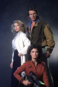 """V""Faye Grant, Marc Singer, Jane Badler1984 © 1984 Mario Casilli - Image 10882_0025"