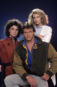 """V""Faye Grant, Marc Singer, Jane Badler1984 © 1984 Mario Casilli - Image 10882_0028"