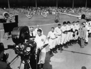 """The Pride of the Yankees""Gary Cooper1942 Samuel Goldwyn Company - Image 10891_0001"