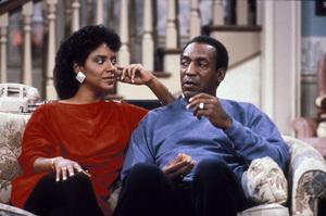 """""""The Cosby Show""""Phylicia Rashad, Bill Cosbycirca 1985 © 1985 Gene Trindl - Image 10894_0024"""