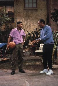 """The Cosby Show""Malcolm-Jamal Warner, Bill Cosby © 1985 Gene Trindl - Image 10894_0025"
