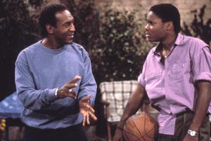 """""""The Cosby Show""""Bill Cosby, Malcolm-Jamal Warnercirca 1991 © 1991 Gene Trindl - Image 10894_0032"""