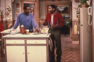 """The Cosby Show""Bill Cosby, Malcolm-Jamal Warner © 1987 Gene Trindl - Image 10894_0038"