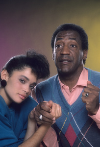 """The Cosby Show""Lisa Bonet, Bill Cosby © 1984 Mario Casilli - Image 10894_0041"