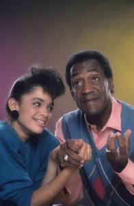 """The Cosby Show""Lisa Bonet, Bill Cosby © 1984 Mario Casilli - Image 10894_0042"