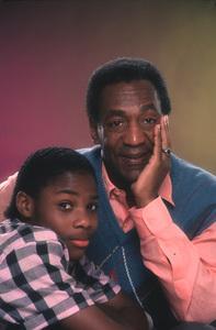 """The Cosby Show""Malcom Jamal Warner, Bill Cosby1984 © 1984 Mario Casilli - Image 10894_0046"