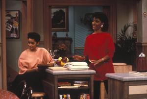 """The Cosby Show""Lisa Bonet, Philicia Rashad © 1985 Gene Trindl - Image 10894_0065"