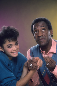 """The Cosby Show""Lisa Bonet, Bill Cosby © 1984 Mario Casilli - Image 10894_0067"