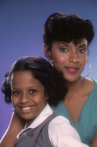 """""""The Cosby Show""""Tempestt Bledsoe, Phylicia Rashad1984 © 1984 Mario Casilli - Image 10894_0070"""