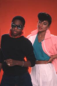 """The Cosby Show""Malcom Jamal Warner, Phylicia Rashad1984 © 1984 Mario Casilli - Image 10894_0114"