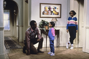 """The Cosby Show"" Bill Cosby, Keshia Knight Pulliam, Tempestt Bledsoe circa 1988 © 1988 Gene Trindl  - Image 10894_0121"