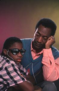 """The Cosby Show""Malcom Jamal Warner, Bill Cosby1984 © 1984 Mario Casilli - Image 10894_0122"