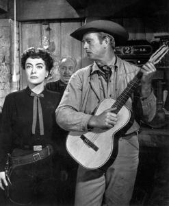 """Johnny Guitar""Joan Crawford,Sterling Hayden © 1954 Republic - Image 10911_0003"