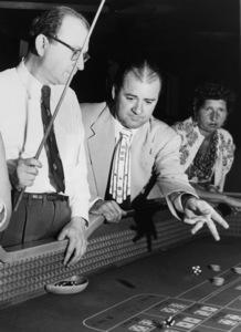 Man playing craps at Las Vegas casino circa 1950s © 1978 David Sutton - Image 10954_0008