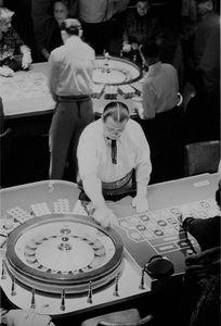 Las Vegasdealer at the Showboat Hotel1955 © 1978 David Sutton - Image 10954_0024