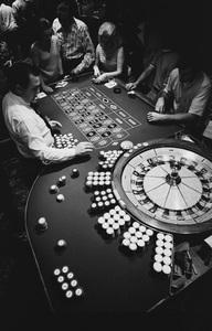 Las Vegasdealer at Binion