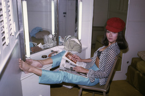 """Irene Tsu during the making of """"The Green Berets""""1967© 1978 David Sutton - Image 10972_0014"""