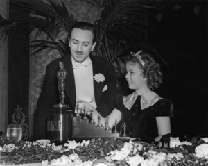 """The 9th Annual Academy Awards"" Walt Disney, Shirley Temple1937** I.V. - Image 11010_0005"