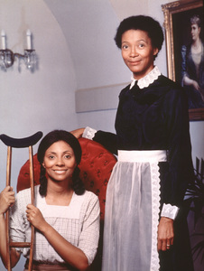 """""""Back Stairs at the White House""""Tania Johnson, Leslie Uggams1977 NBCPhoto by Herb Ball - Image 11019_0001"""