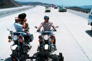 """""""CHIPS""""Larry Wilcox, Erik Estrada1977 NBC © 1978 Gene TrindlMPTV - Image 11024_0005"""