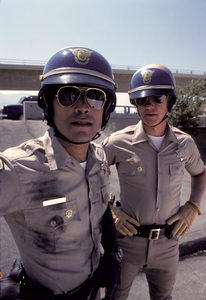 """CHiPs""Erik Estrada, Larry Wilcox1978 © 1978 Gene Trindl - Image 11024_0037"