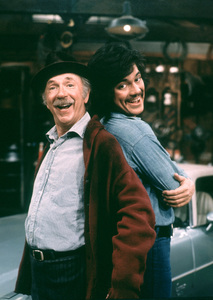 """""""Chico And The Man""""Jack Albertson, Freddy Prinze1974 / NBCPhoto by Herb Ball - Image 11027_0001"""
