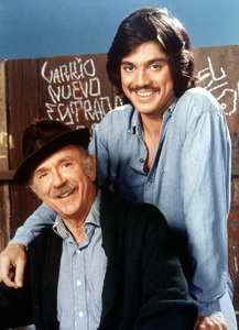 """""""Chico And The Man""""Jack Albertson, Freddie Prinze1974 / NBCPhoto by Herb Ball - Image 11027_0005"""