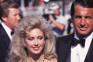 Morgan Fairchild, George Hamilton c. 1985 © 1978 Gunther - Image 11029_0003