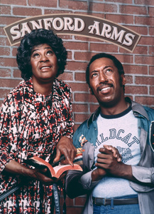 """""""Sanford Arms""""Lawanda Page, Theodore Wilson1977 NBCPhoto by Herb Ball - Image 11061_0001"""