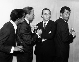 Joey Bishop, Sammy Davis Jr., Dean Martin and Frank Sinatra1963 © 1978 Bernie Abramson - Image 11078_0004