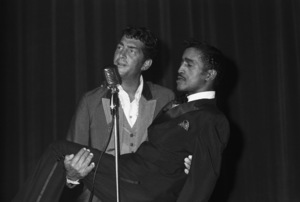 Dean Martin and Sammy Davis Jr. at a Share Party1963 © 1978 Chester Maydole - Image 11078_0006