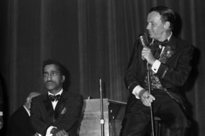 Frank Sinatra and Sammy Davis Jr. at a Share Party1963 © 1978 Chester Maydole - Image 11078_0011