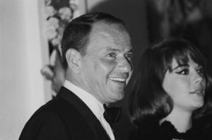 """Frank Sinatra and Natalie Wood at the premiere of """"My Fair Lady""""1964 © 1978 Chester Maydole - Image 11078_0017"""