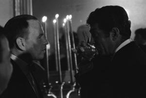 Frank Sinatra and Dean Martin at a Friar