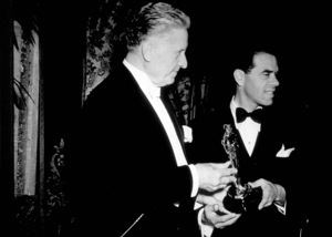 """Academy Awards: 11th Annual,""Frank Capra receives Best Directoraward for ""You Can"