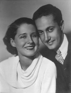 Norma Shearer & husband Irving ThalbergC.1934 - Image 1114_0822