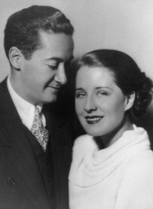 Norma Shearer & husband Irving ThalbergC. 1934 - Image 1114_0855