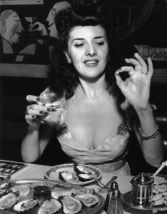 People & Food (Miss Ann Dupont at The New Yorker Hotel)circa 1950s - Image 11152_0005