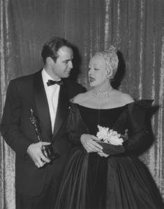 """Academy Awards - 27th Annual""Marlon Brando, Bette Davis1955**I.V. - Image 11156_0018"