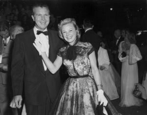 """Academy Awards - 27th Annual""Dick Powell, June Allyson1955**I.V. - Image 11156_0029"