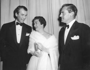 """Academy Awards - 27th Annual""James Stewart, Jane Wyman1955**I.V. - Image 11156_0031"