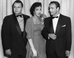 """""""The 27th Annual Academy Awards""""Rod Steiger, Katy Jurado, Marlon Brando1955** I.V. - Image 11156_0034"""