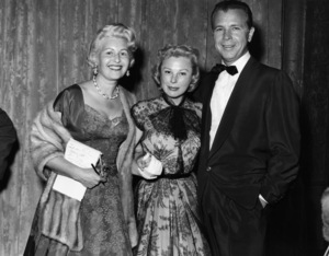 "June Allyson and Dick Powell at ""The 27th Annual Academy Awards""1955** I.V. - Image 11156_0039"
