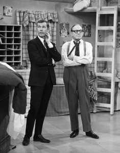 """The Jack Benny Program"" Johnny Carson, Jack Bennycirca 1964 © 1978 Bud Fraker - Image 11164_0006"