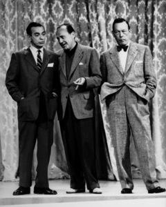 """The Jack Benny Show""Eddie Cantor, Jack Benny, Fred Allen1955Photo By Gabi Rona - Image 11164_6500"