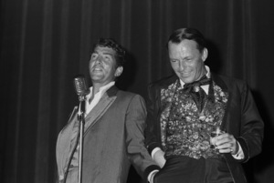 Frank Sinatra and Dean Martin at a Share Party1963 © 1978 Chester Maydole - Image 11165_0012