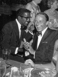 Share Party, 1959.Frank Sinatra, Sammy Davis Jr. © 1978 David Sutton - Image 11167_0002