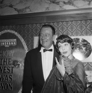 """How the West Was Won"" (Premiere)John Wayne, Loretta Young1962© 1978 David Sutton - Image 11171_0012"