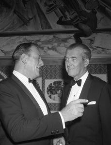 """How the West Was Won"" (Premiere)John Wayne, James Stewart1962© 1978 David Sutton - Image 11171_0014"